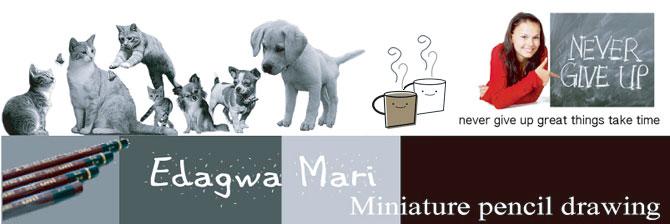 ご自分で愛犬、愛猫の絵を描く