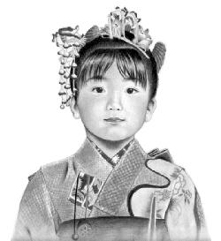 枝川真理10代の頃の色々な練習作品