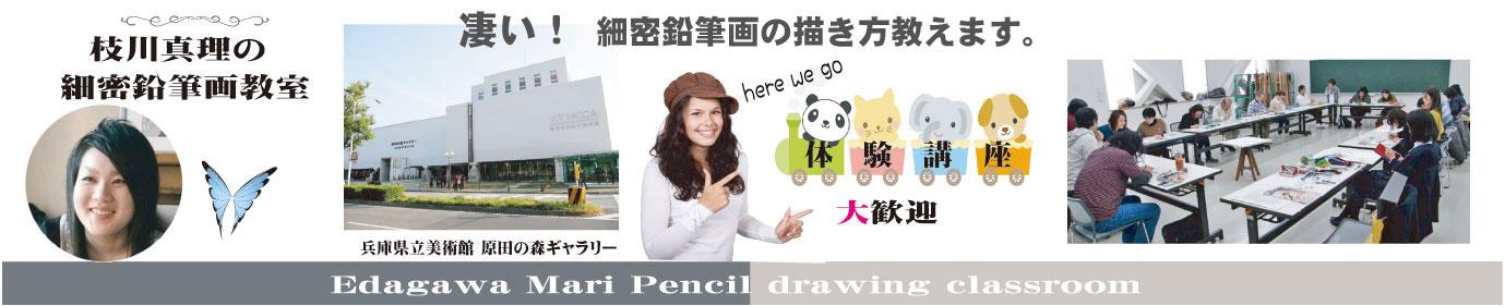鉛筆画教室、驚くような鉛筆画を描けるようになる教室です。